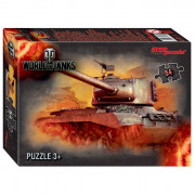 Пазл 54 элемента World of Tanks (Step Puzzle) арт.71171