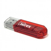 Флеш диск 8GB USB 2.0 Mirex Elf красный