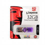Флеш диск 32GB USB 2.0 Kingston Data Traveler 101 G2 лиловый