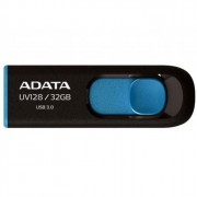 Флеш диск 32GB USB 3.0 A-DATA UV128 черно-синий