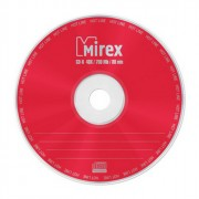Диск  CD-R Mirex Hotline 700Мб 80мин 48x Cake Box (Ст.10) УПАКОВКА