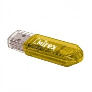 Флеш диск 16GB USB 2.0 Mirex Elf желтый