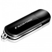 Флеш диск 16GB USB 2.0 Silicon Power Luxmini 322, черный