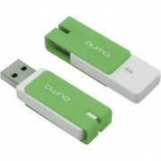 Флеш диск 8GB USB 2.0 Qumo Click Mint